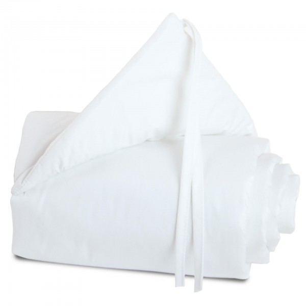 babybay Nestchen Cotton für Midi und Mini, weiß