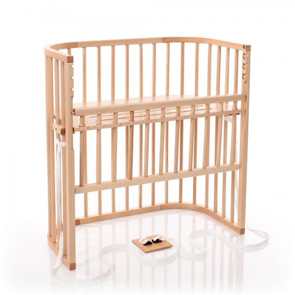 babybay Boxspring Comfort Beistellbett, natur lackiert
