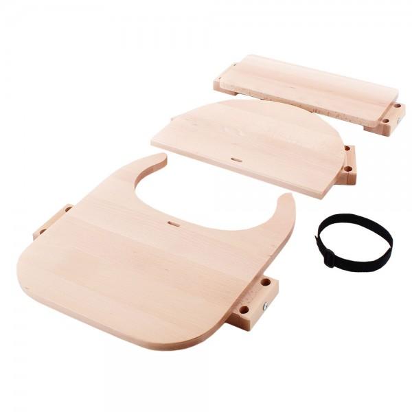 babybay Hochstuhlumrüstsatz passend für Modell Original, Maxi, Comfort und Comfort Plus, Kernbuche geölt
