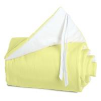 babybay Nestchen Cotton passend für Modell Maxi, Boxspring und Comfort, grün/weiß