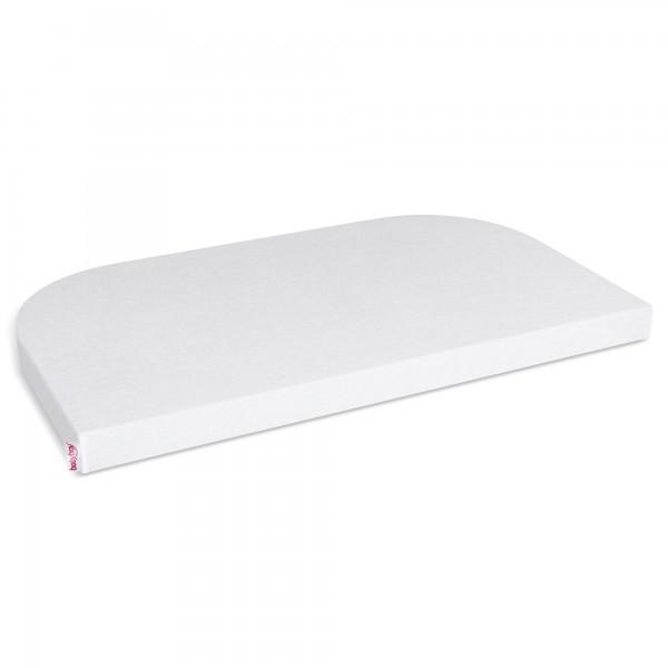 babybay Frottee Spannbetttuch passend für Modell Maxi, Midi, Boxspring, Comfort und Comfort Plus, weiß