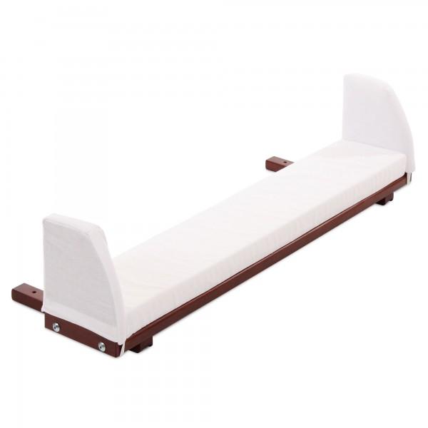 babybay Verlängerungsseite colonial inkl. Matratzenergänzung weiß passend für Modell Maxi und Boxspring