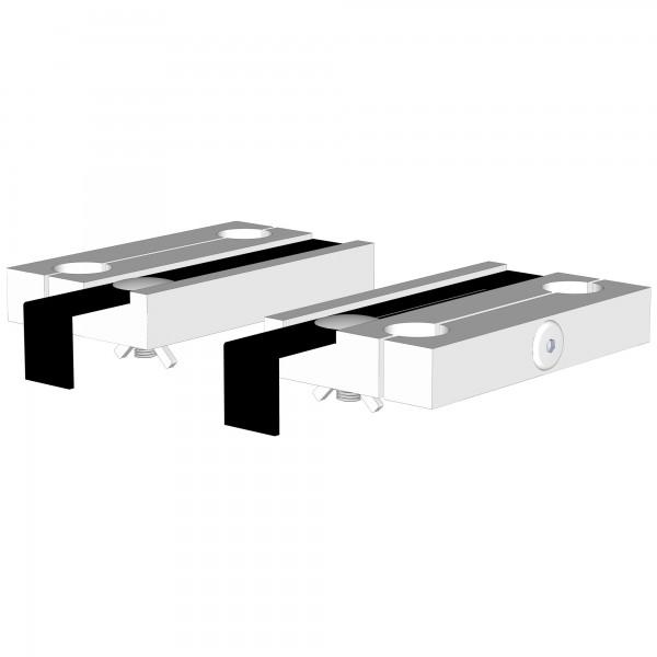 Zub(e) Befestigungsset für babybay original/midi/maxi weiß lackiert 100102/100112/100118/120102/120112/160102/160108