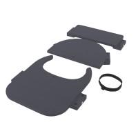 babybay Hochstuhlumrüstsatz passend für Modell Original, Maxi, Comfort und Comfort Plus, schiefergrau lackiert