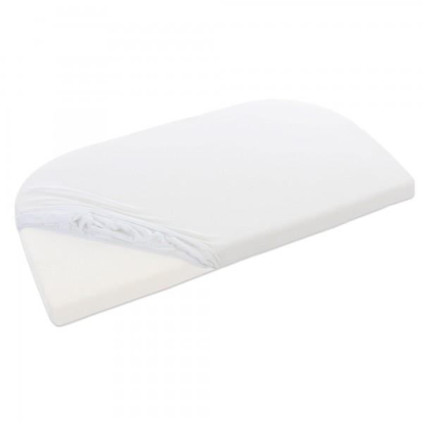 babybay Jersey Spannbetttuch Deluxe passend für Modell Original, Off-White