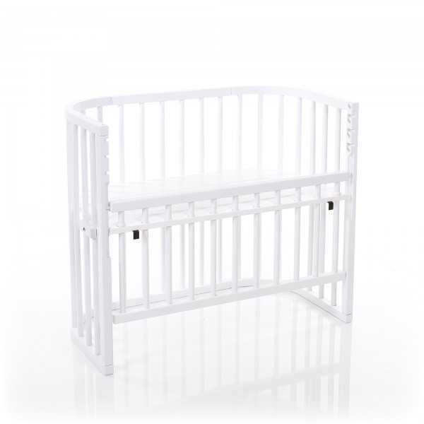 babybay Comfort Beistellbett, weiß lackiert