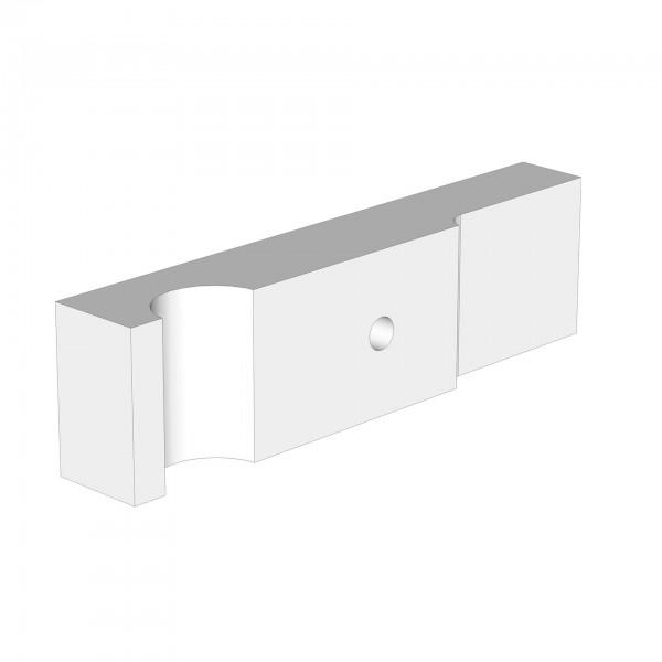 Standardgegenstück maxi advance vorne weiß lackiert
