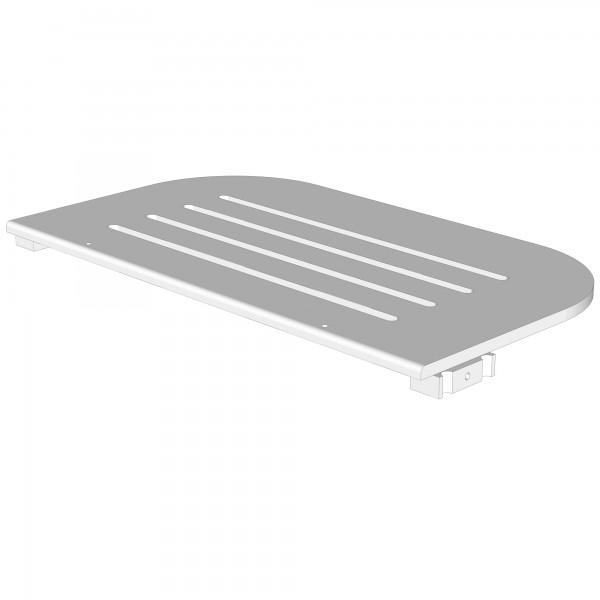 Zub(d) Bodenplatte für babybay maxi/boxspring schiefergrau lackiert 160107/166107