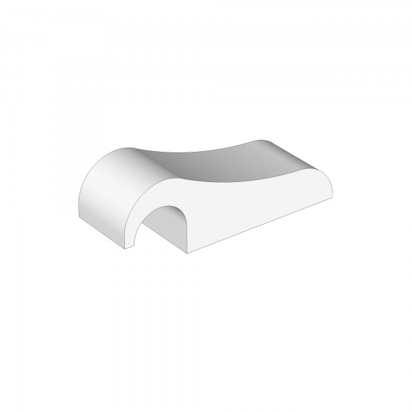Zub(v) Verschlussklemme für Verschlussgitter natur lackiert 100206/160201