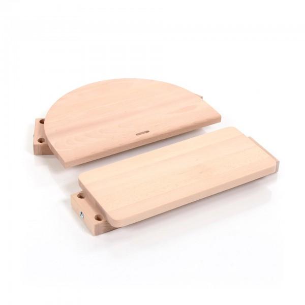 babybay Kinderstuhlumrüstsatz passend für Modell Original, Maxi und Comfort, natur unbehandelt