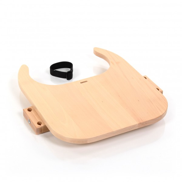 babybay Tischplatte Hochstuhlumrüstsatz passend für Modell Original, Maxi, Comfort und Comfort Plus, natur lackiert