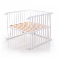 babybay Kinderbett-Umbausatz für Maxi und Boxspring, weiß lackiert