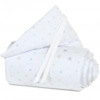 babybay Nestchen Piqué passend für Modell Midi und Mini, Sternemix sand/azurblau