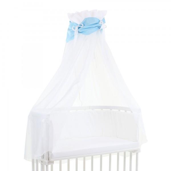 Himmel babybay cotton türkis/weiss