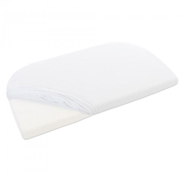 babybay Frottee Spannbetttuch passend für Modell Original, weiß