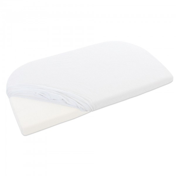babybay Frottee Spannbetttuch passend für Modell Maxi, Midi, Mini, Boxspring, Trend und Comfort, wei