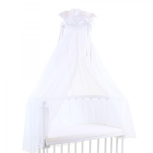 babybay Himmel Cotton mit Schleife passend für alle Modelle, weiß
