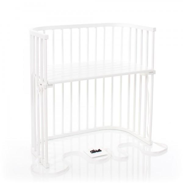 Babybay Boxspring Co Sleeper White Varnished Babybay De