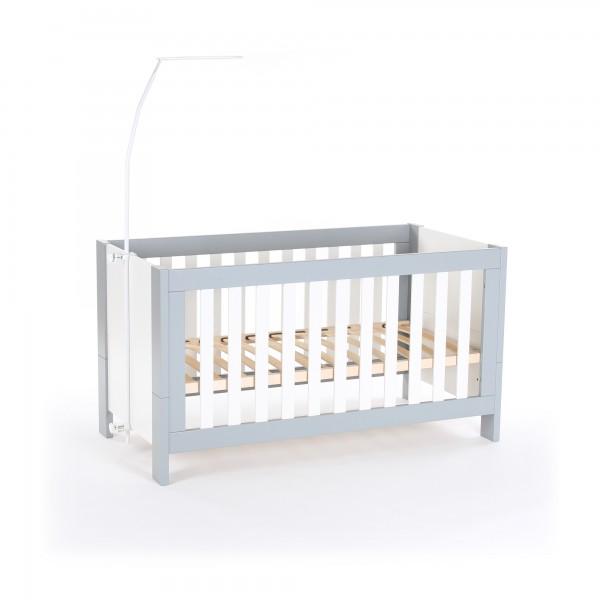 babybay Himmelstange für Kinderbetten, weiß