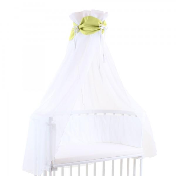 babybay Himmel Cotton mit Schleife passend für alle Modelle, grün/weiß