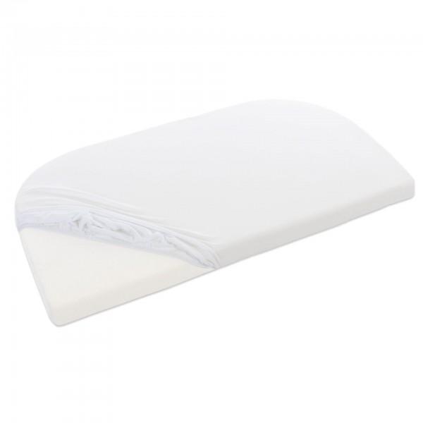 babybay Jersey Spannbetttuch passend für Modell Maxi, Midi, Mini, Boxspring, Trend und Comfort, Off-