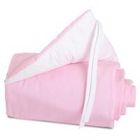 babybay Nestchen Cotton passend für Modell Maxi, Boxspring und Comfort, rosa/weiß