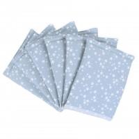 babybay Nestchen Ultrafresh Piqué passend für Modell Original, azurblau Sterne weiß