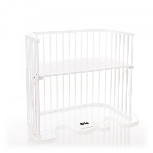 Babybay Boxspring Xxl Co Sleeper White Varnished Babybay De