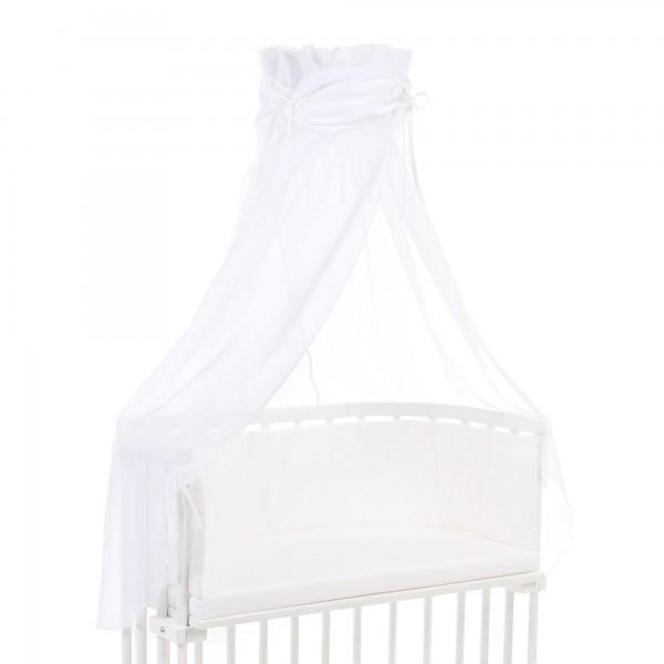 babybay Himmel Organic Cotton mit Schleife passend für alle Modelle, weiß