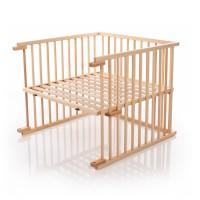 babybay Kinderbett-Umbausatz passend für Modell Maxi und Boxspring, natur lackiert