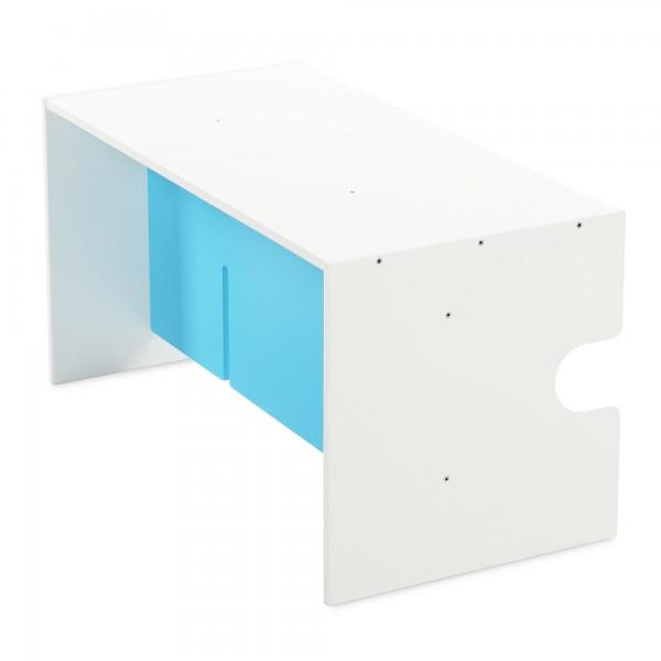 babycube Tisch/Bank, weiß lackiert