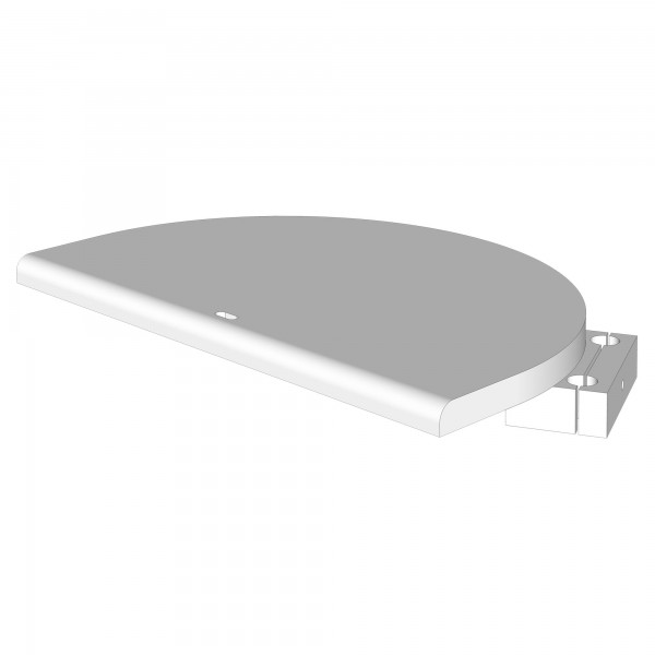 Zub(o) Sitzplatte für Hochstuhlumrüstsatz dunkelbraun lackiert 160753/100711