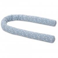 babybay Nestchenschlange Piqué passend für alle Modelle, azurblau Sterne weiß