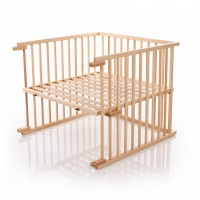 babybay Kinderbett-Umbausatz passend für Modell Original, natur lackiert
