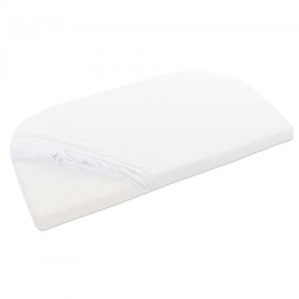 babybay Jersey Spannbetttuch Organic Cotton passend für Modell Verlängerungsseite Original, Maxi, Mi