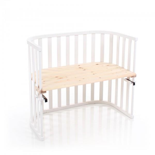 babybay Liegefläche aus Zirbelkiefer passend für Modell Maxi Advance, natur unbehandelt