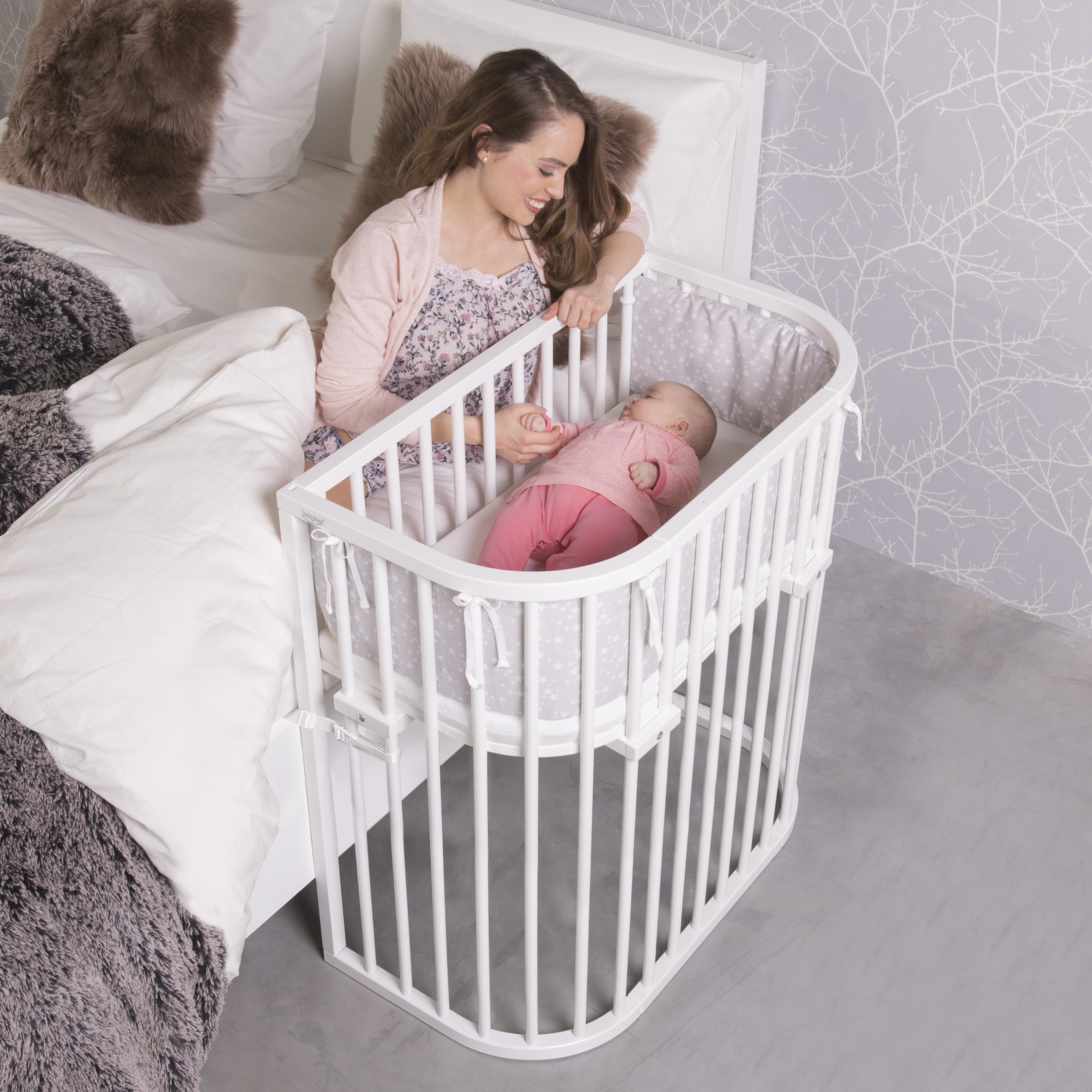 Babybay Boxspring Comfort Plus Co Sleeper Babybay De