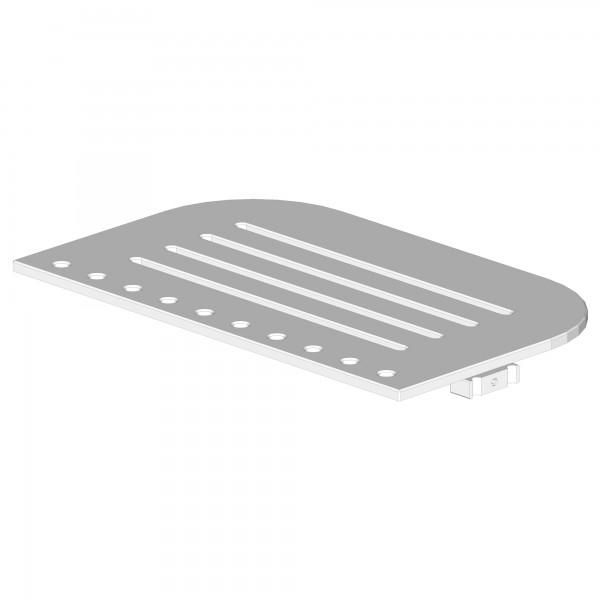 Zub(d) Bodenplatte für babybay Maxi Comfort Plus und Boxspring Comfort Plus schiefergrau lackiert 190117/196117