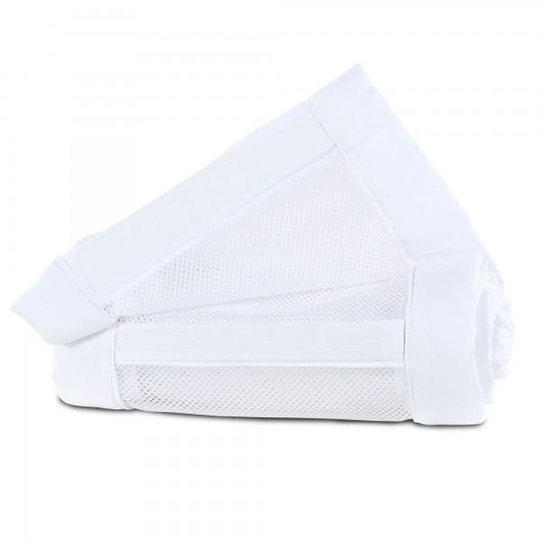 babybay Nestchen Mesh-Piqué passend für Modell Maxi, Boxspring, Comfort und Comfort Plus, weiß