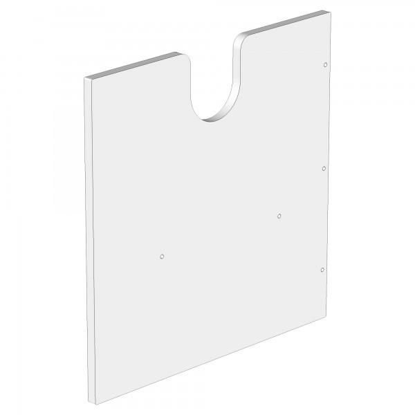Zub(a) Seitenteil für babycube weiß lackiert 320102