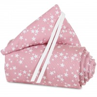 babybay Nestchen Piqué für Original, beere Sterne weiß