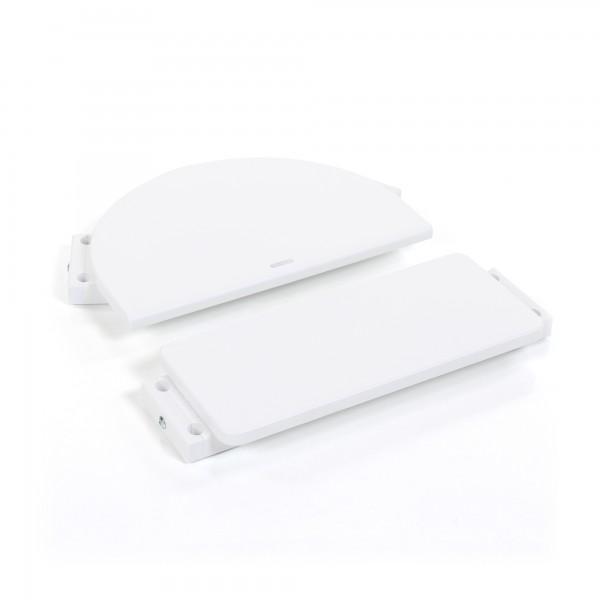 babybay Kinderstuhlumrüstsatz passend für Modell Original, Maxi, Comfort und Comfort Plus, weiß lackiert