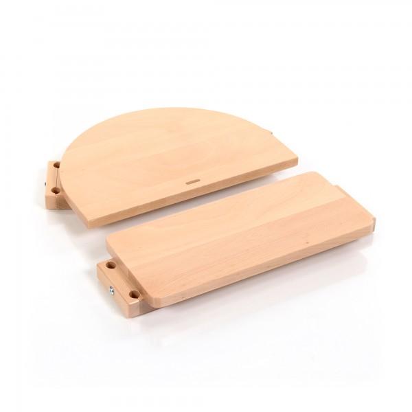 babybay Kinderstuhlumrüstsatz passend für Modell Original, Maxi, Comfort und Comfort Plus, natur lackiert