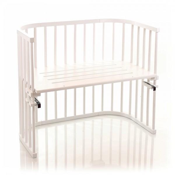 Babybay Maxi Co Sleeper White Varnished Babybay De