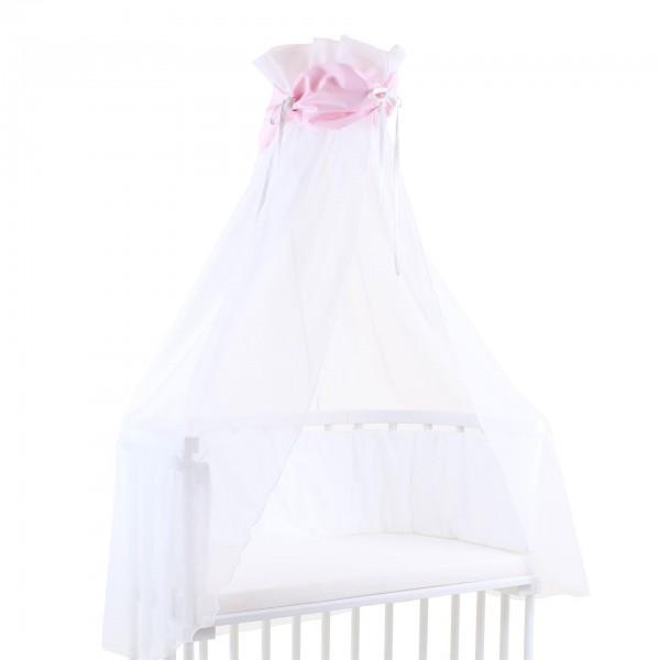 babybay Himmel Cotton mit Schleife passend für alle Modelle, rosa/weiß