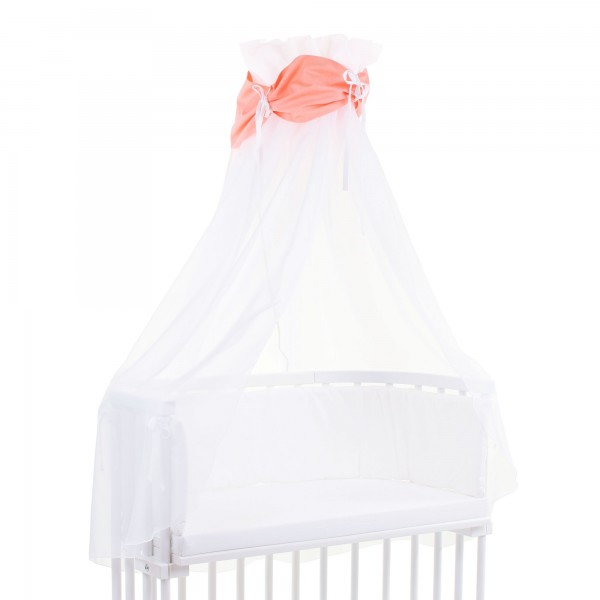 Himmel babybay cotton orange/weiss