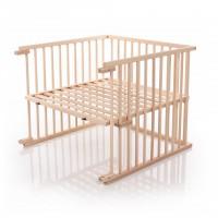 babybay Kinderbett-Umbausatz passend für Modell Original, natur unbehandelt
