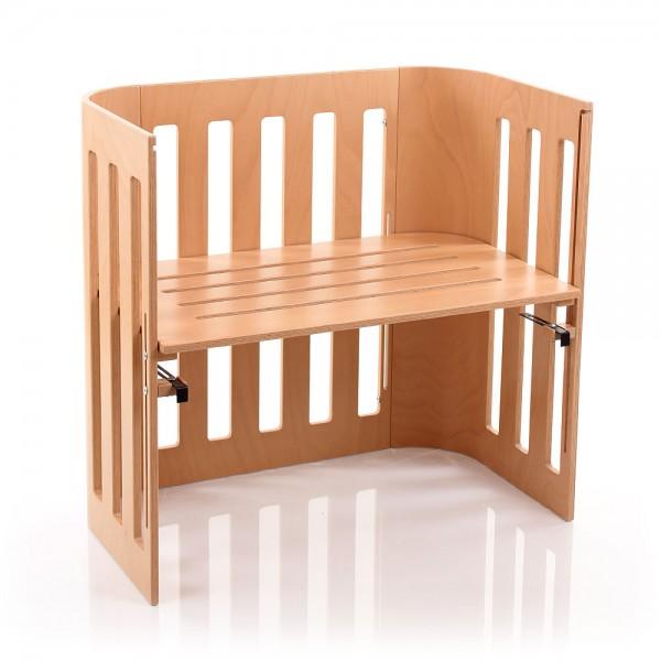 babybay Trend Beistellbett, natur lackiert