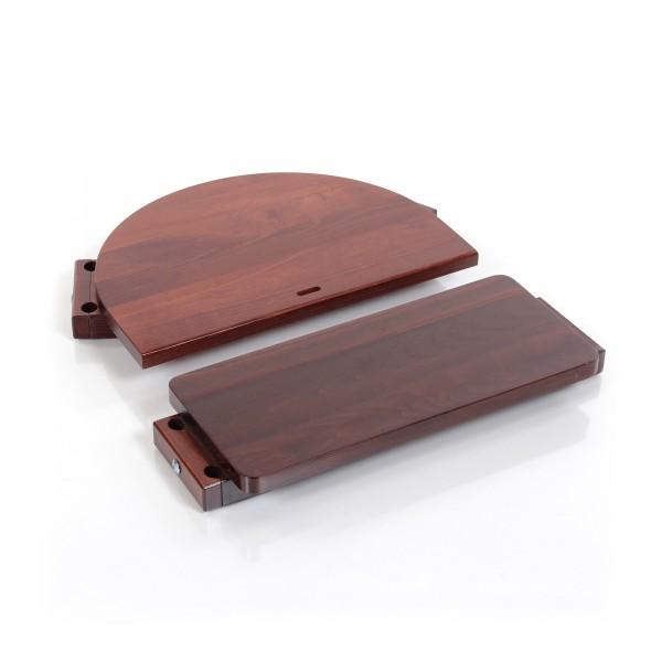 babybay Kinderstuhlumrüstsatz passend für Modell Original, Maxi und Comfort, dunkelbraun lackiert