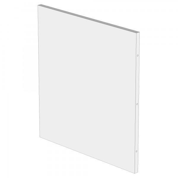 Zub(b) Seitenteil für babycube weiß lackiert 320102